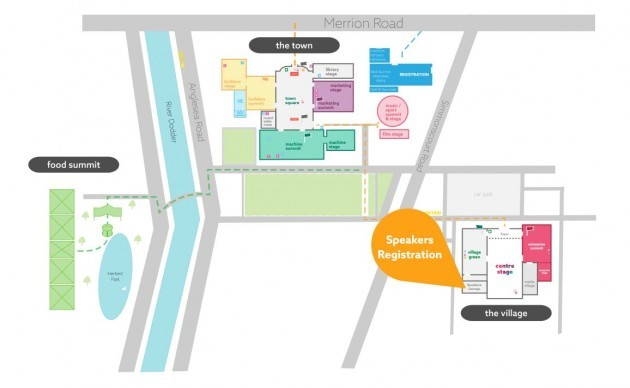 RDS Web Summit Map