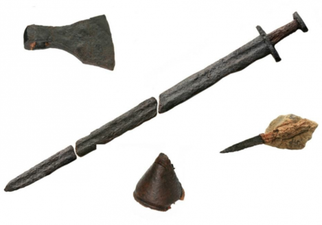 The weaponry after conservation (ACS Ltd)