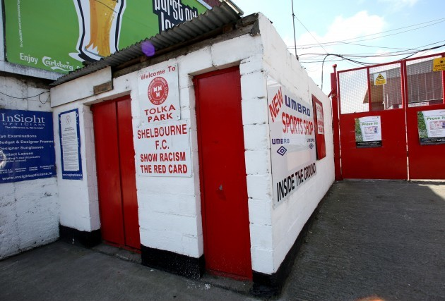 Entrance to Tolka Park