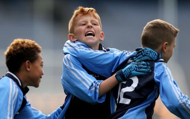 Ben O'Reilly celebrates a goal