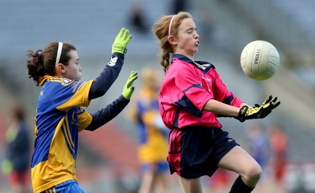 Jade Donnelly and Aoife Nic Aoidh