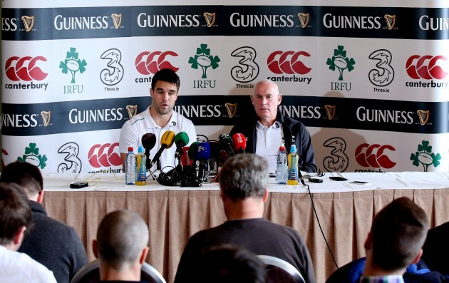 Conor Murray and Michael Kearney