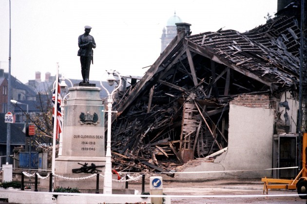 ENNISKILLEN BOMB : AFTERMATH