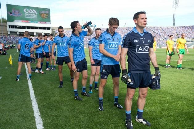 A general as Stephen Cluxton leads the Dublin team