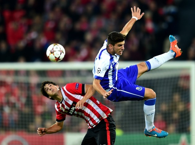 Soccer - UEFA Champions League - Group H -  Athletic Bilbao v FC Porto - San Mames Stadium