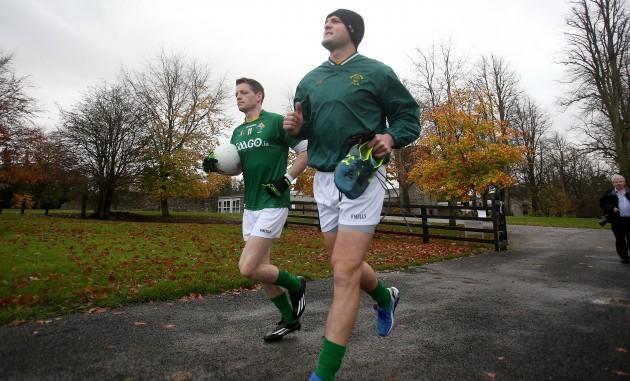 Conor McManus and Michael Murphy
