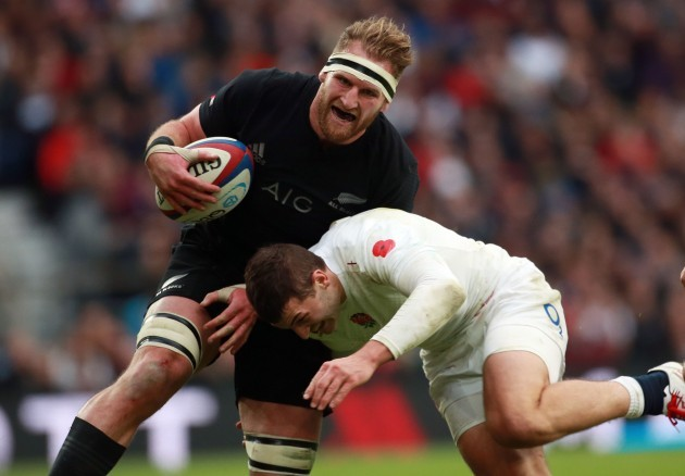 Rugby Union - QBE International 2014 - England v New Zealand - Twickenham