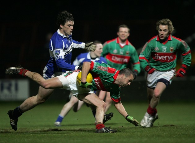Trevor Mortimer supported by Conor Mortimer and John O'Loughlin