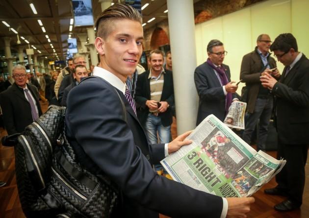 Soccer - Champions League Soccer - RSCA Anderlecht Leave London - St Pancras International Railway Station