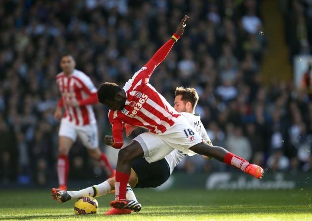 Soccer - Barclays Premier League - Tottenham Hotspur v Stoke City - White Hart Lane