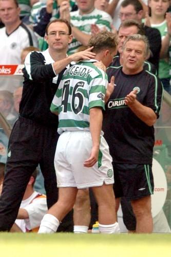 Soccer - Bank of Scotland Premier Division - Celtic v Motherwell