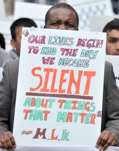 Ethnic Minorities Protests