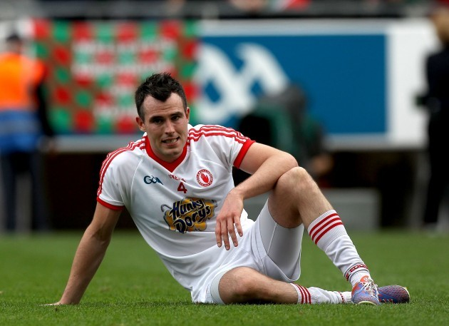 Cathal McCarron dejected