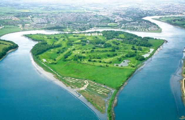 Aerial Island Shot