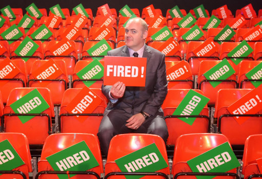 Dara O'Briain hosts The Apprentice: You're Fired