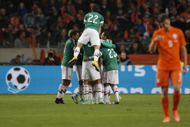 Soccer Netherlands Mexico