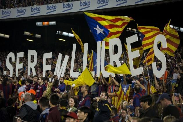 Soccer - La Liga - FC Barcelona v Celta Vigo - Camp Nou Stadium