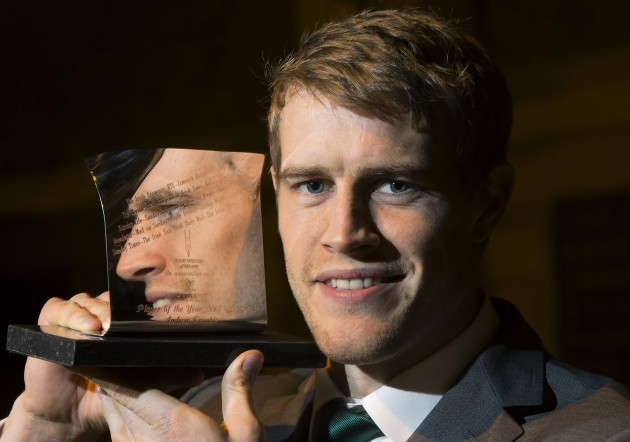 Andrew Trimble named Guinness Rugby Writers of Ireland Player of the Year