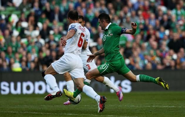 Soccer - UEFA Euro 2016 - Qualifying - Group F - Republic of Ireland v Gibraltar - Aviva Stadium