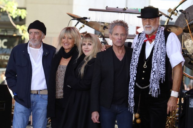 Fleetwood Mac perform on NBC's Today - New York City