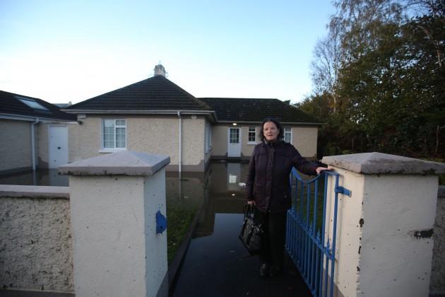 14/11/2014. Dublin Floods. Pictured Ann Marie Mulh