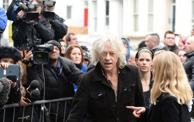 Band Aid 30 Recording - London