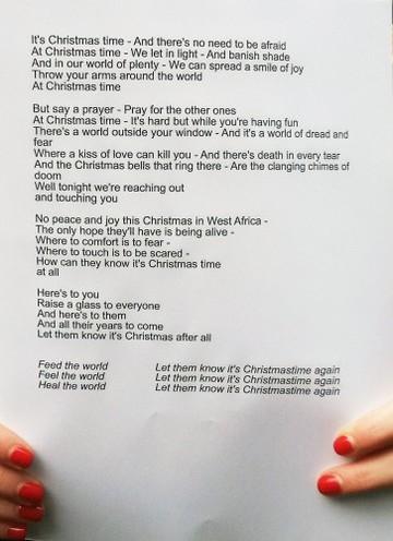 Band Aid 30 Recording - London