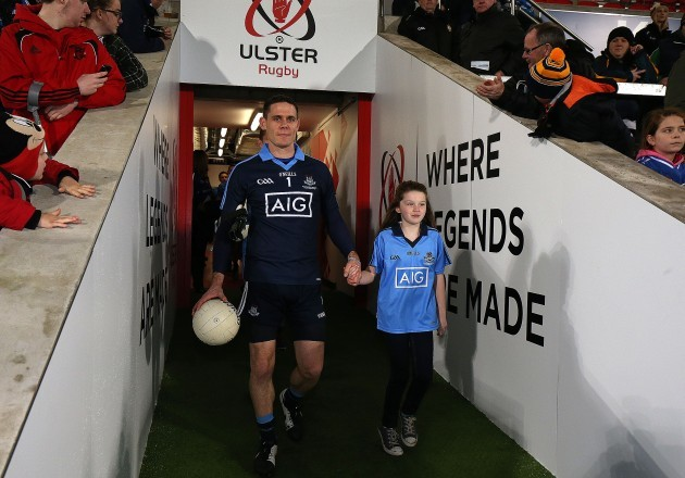 Stephen Cluxton along with Ava Finnegan