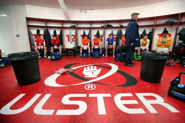 The Ulster All-Stars team before the game
