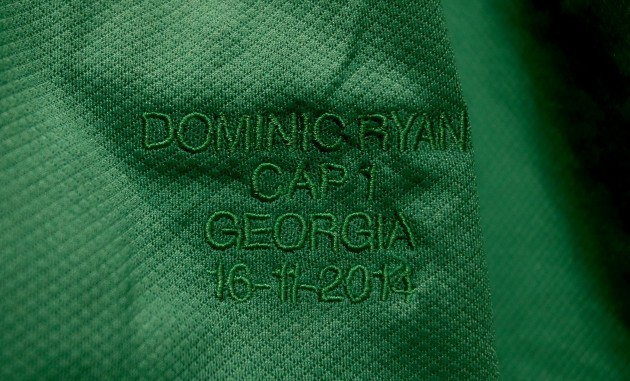 A general view of Dominic Ryan's jersey
