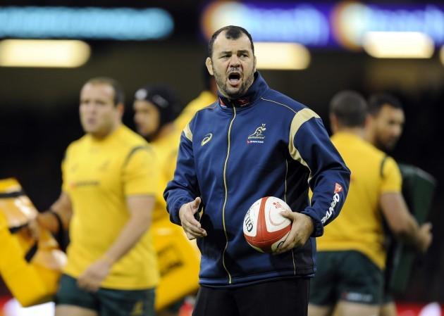 Rugby Union - Dove Men Series 2014 - Wales v Australia - Milliennium Stadium