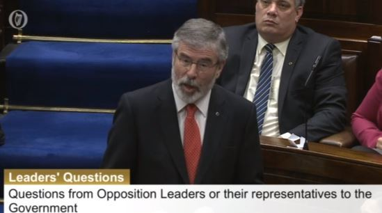 gerry adams 19 nov