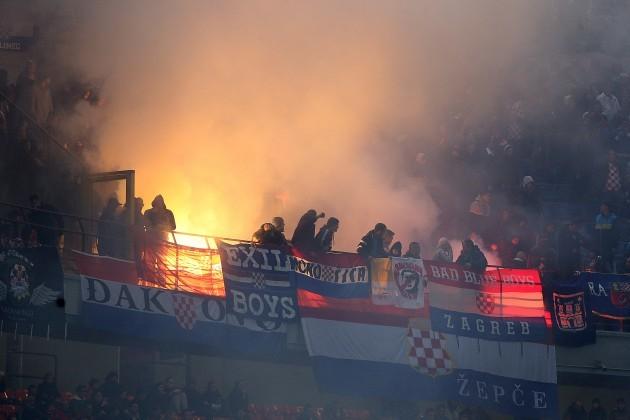 Soccer - UEFA Euro 2016 - Qualifying - Group H - Italy v Croatia - San Siro - Milan