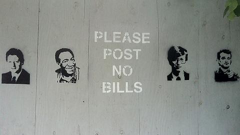 Post no bills!