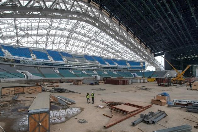 Soccer - FIFA 2018 Russia World Cup Stadium Visit - Fisht Stadium