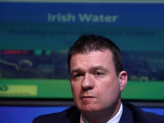Irish Water - Alan Kelly. Pictured Min