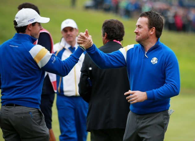 Golf - 40th Ryder Cup - Day Three - Gleneagles