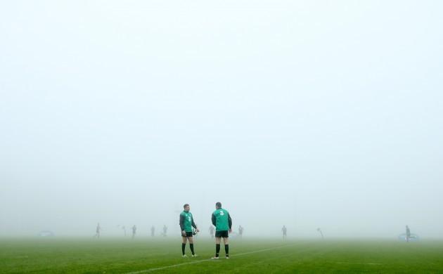 Felix Jones and Robbie Henshaw