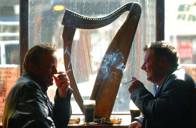 Irish smoking ban