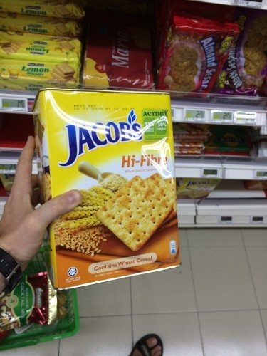 Jacob's biscuit, the healthy one I think