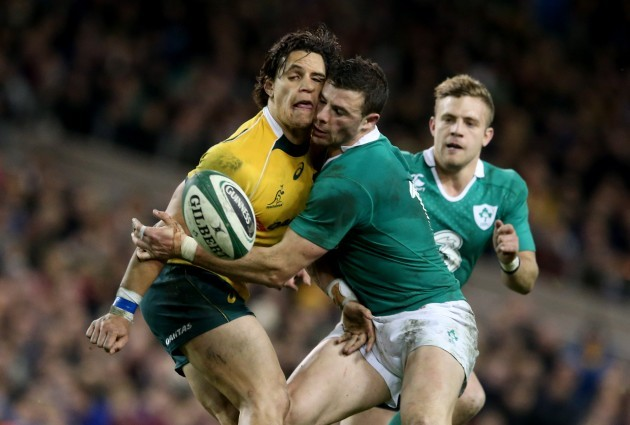 Matt Toomua and Robbie Henshaw