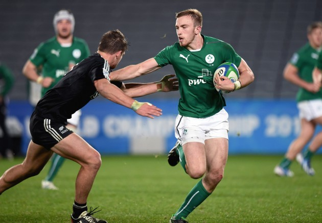 Ciaran Gaffney carries forward