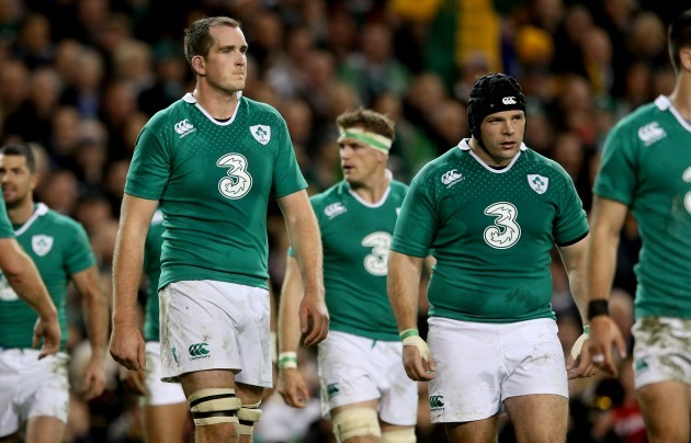 Devin Toner and Mike Ross