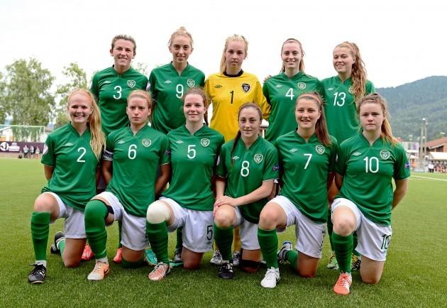 The Republic of Ireland team 24/7/2014