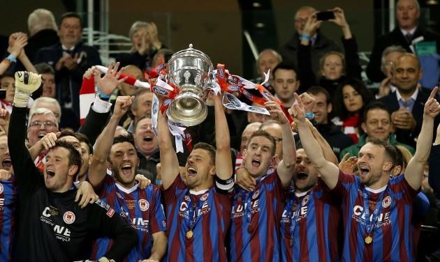 Ger O'Brien lifts The FAI Ford Cup
