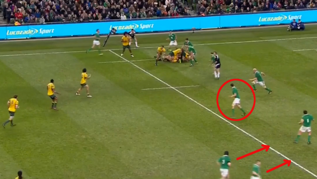 Toner Offside 35mins Break - Penalty