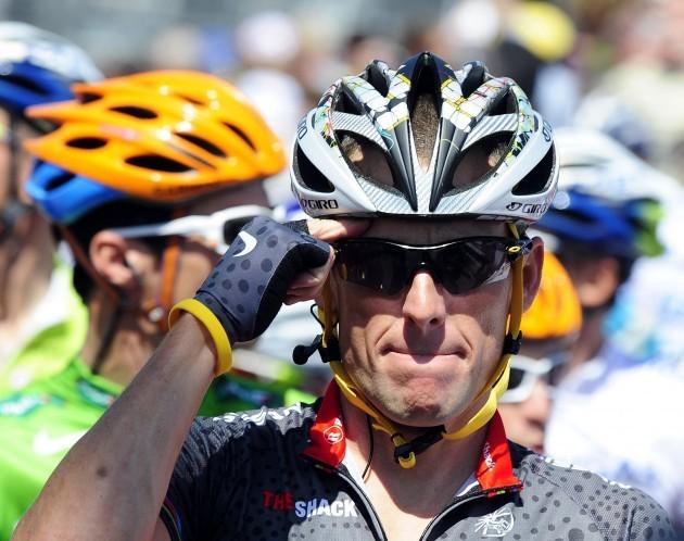 Cycling - Lance Armstrong Filer