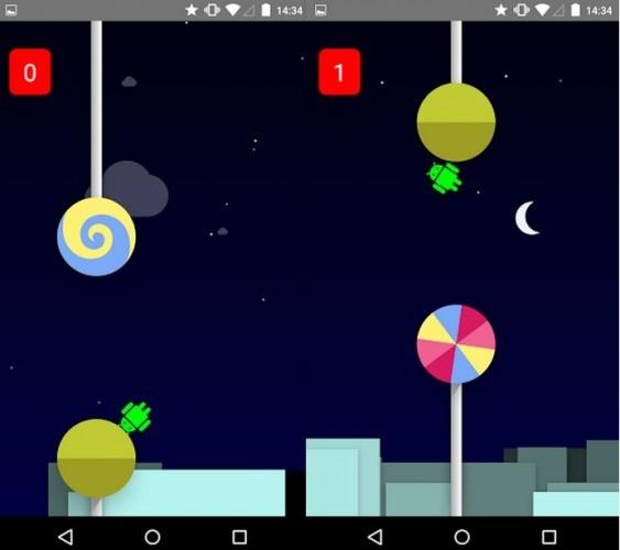 Android Flappy Lollipop