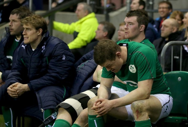 Brian O'Driscoll dejected after the game