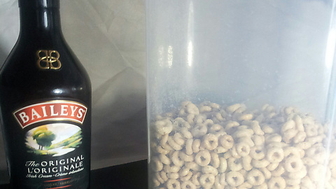 Life Tip: If you think your day is going to be bad, add some Baileys to your cereal.